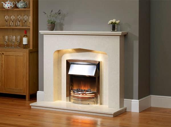 fireplaces, stone fireplace