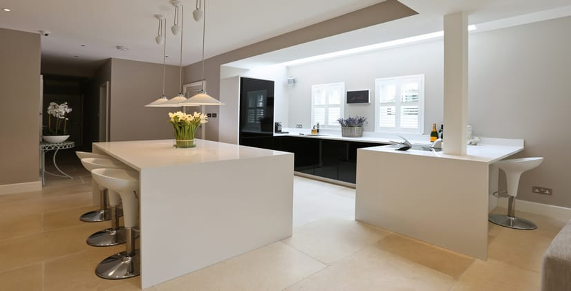 quartz worktops in ashford