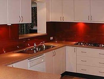 splashback_red kitchen