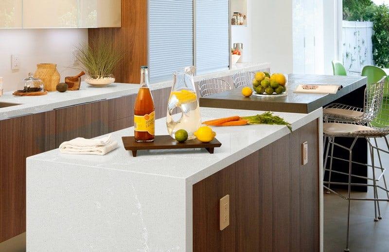Kitchen quartz worktops in Bromley