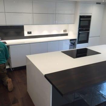 kitchen quartz worktop in kent