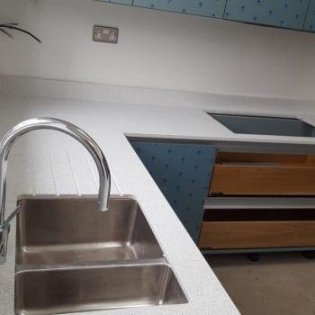 kitchen quartz worktops silestone branco