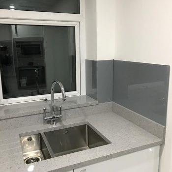 Kitchen grey worktops