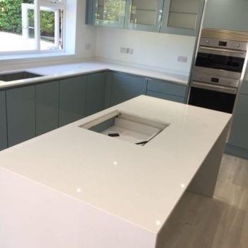 off white kitchen quartz worktops