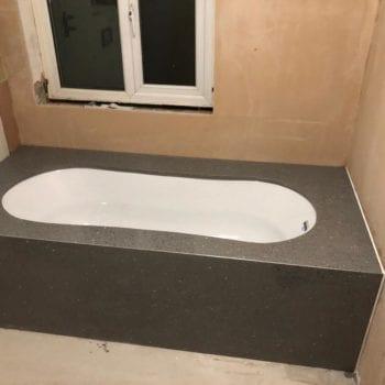 bath surround marble