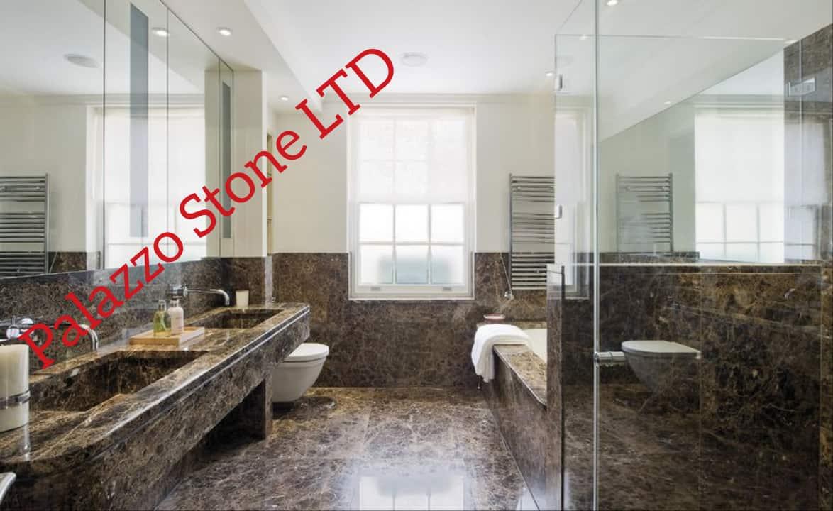 Marble Bathroom Worktops, Walls and Cladding