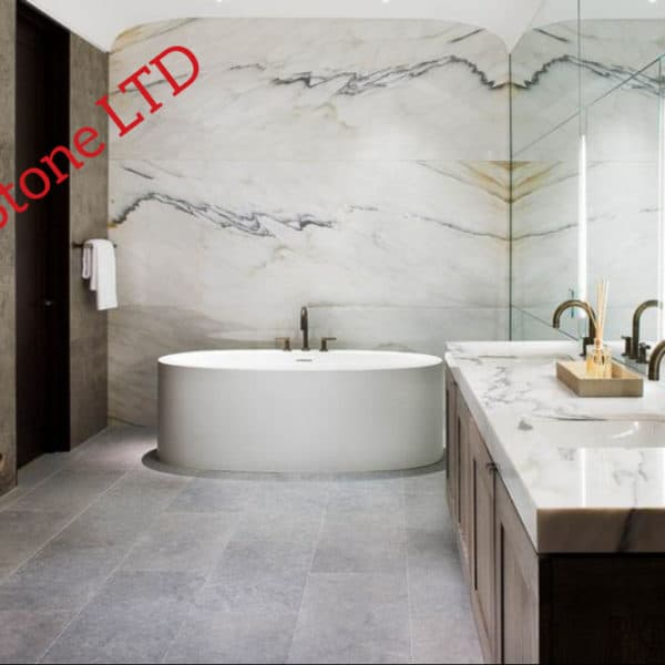Marble bathroom wall cladding, marble bathroom London